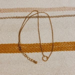 Urban Outfitters Halo Necklace